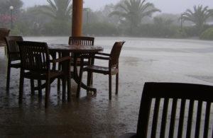Pluie battante